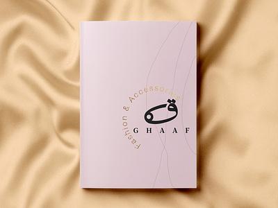 Editorial design for Ghaaf brochure design brochure booklet magazine layoutdesign grid graphicdesign graphic fashion logo editorial design bookdesign print branding