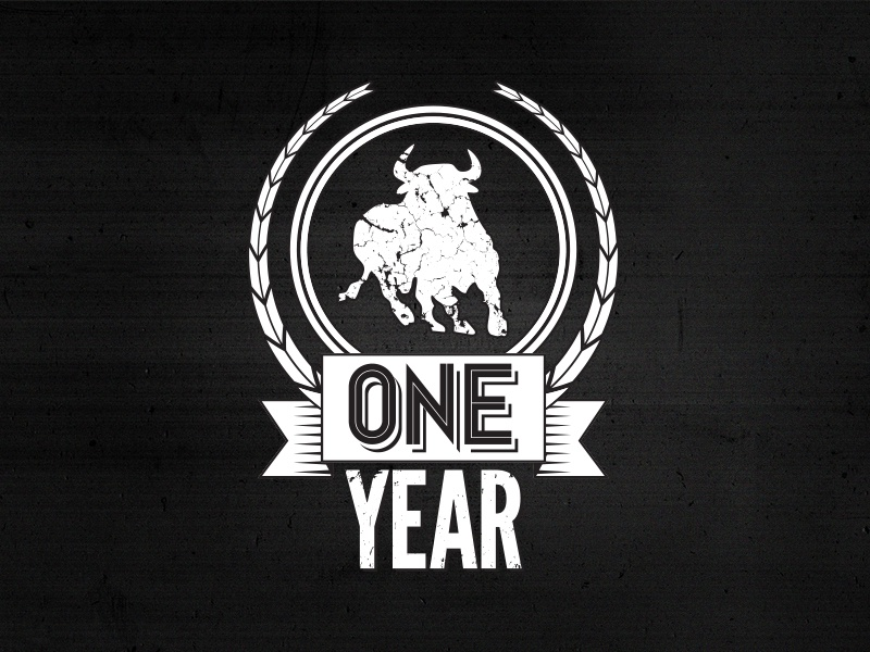 One Year Anniversary anniversary one year tshirt