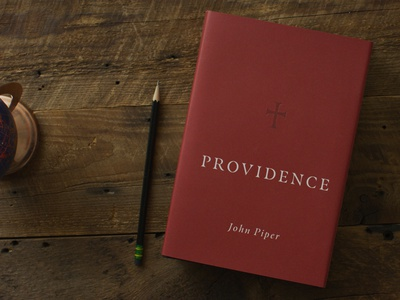 Providence cover tome red maroon vector cross typography simple book icon church minimal christian design