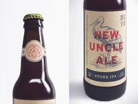 New Uncle Ale - Stork IPA