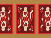 St.  Augustine - Playing Card