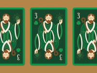 St. Patrick - Playing Card