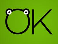 OK Frog Logo