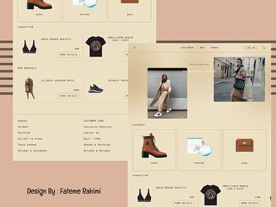 luxury dress shop top brand top brand mark dior chanel hermes nike addidass zara app web shopping dress shop dress shop branding graphic design 3d ui