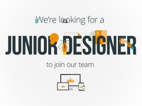 Junior designer job opportunity
