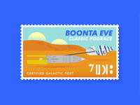 Boonta Eve Classic Podrace Stamp