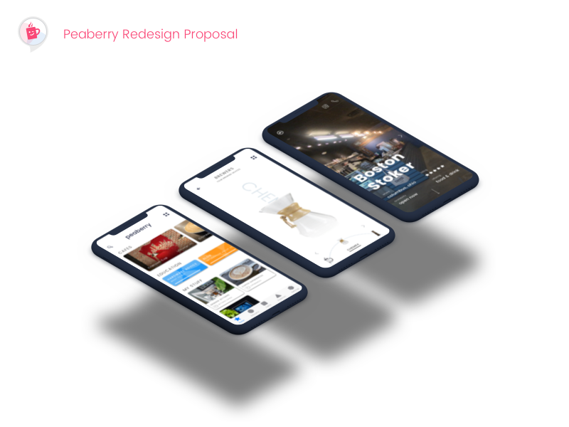 Peaberry Redesign Proposal