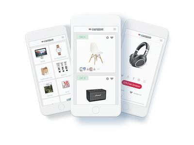 curazon design shopping mobile