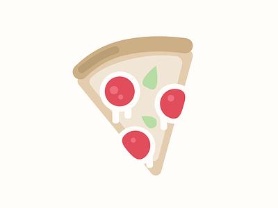 Pizza slice illustration food slice pizza