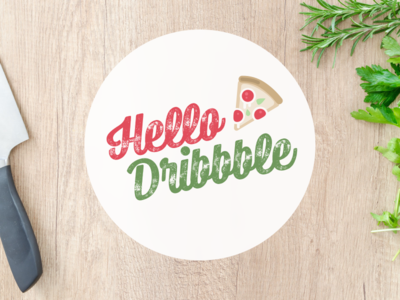 Dribble Pizza Debut debut pizza