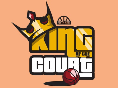 King Of The Court Slogan