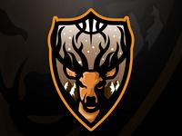 Stag Mascot Logo