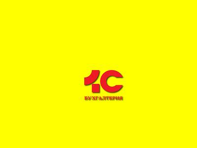 Logo 1C animation ui graphic design branding logo