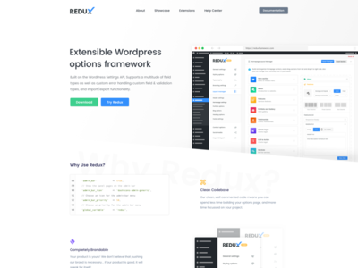 Dory | Redux | Saas Landing Pages themeforest woordpress green blue white landing homepage ui web redux saas