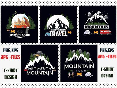 Mountain Sublimation Bundle print fonts