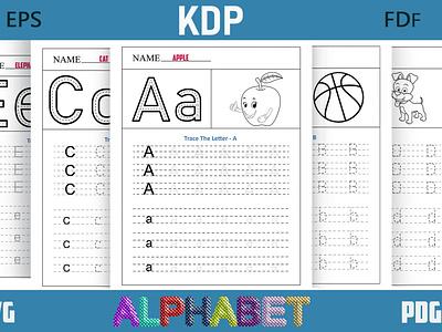Alphabet Coloring Book for Kdp alphabet coloring kook alphabet coloring alphabet fonts activity fonts kids book kdp coloring book coring