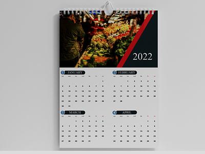 Calendar Design 2022 Template graphic design calendar design 2022 calendar design color office calendar 2022 calendar design template