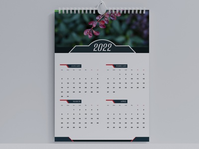 2022 Calendar Design calendar 2022 2022 calendar graphic design 2022 calendar design