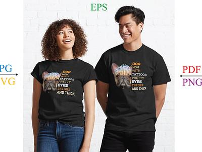 Dog T Shirt Design Dog Lover, Dog Svg design
