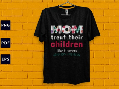 Mother's Day T-shirt Design mom love