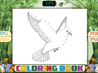 Birds Dot Coloring Pages underwater