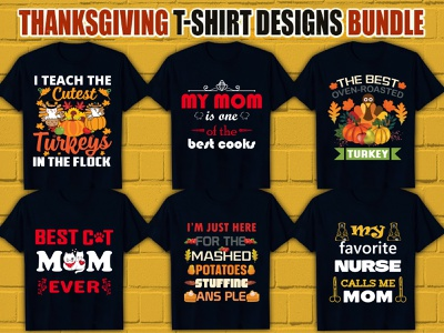 T-shirt Design Bundle png fonts