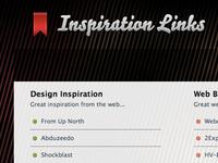 Inspiration Links