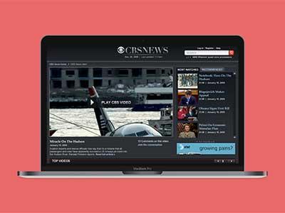 News Site Redesign website ux-design