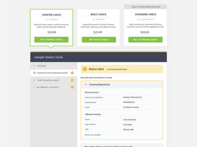 Pricing Page - Show Don't Tell price website web design ux design ux ui pricing page flat clean typography pricing