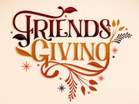 Friendsgiving // Courtney Blair