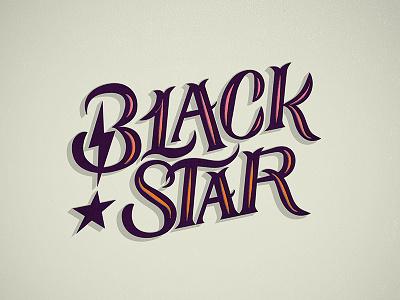 Blackstar // David Bowie // Courtney Blair blackstar david bowie best of 2016 music albums of 2016 hand drawn type lettering art typography type
