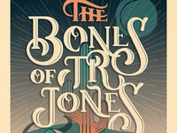 Courtney Blair // Bones of Jr Jones // Gig Poster