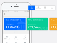 Banking App Concept.