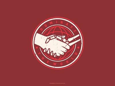 Dealing Agreement t-shirt design illustration vector