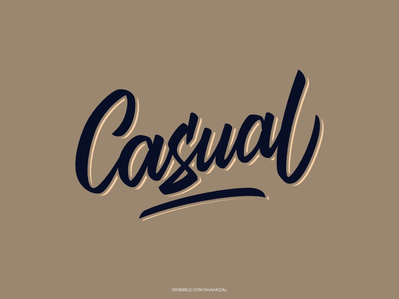 Casual for sale tshirt design typography brushpen lettering