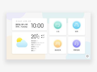 Check-in Home Page Design-2