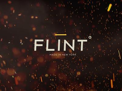 Flint Main Logo flint process firestarter fire product logo