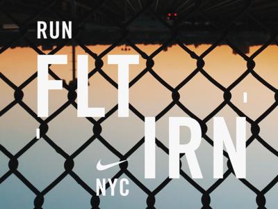 Nike Flation NYC Lockup