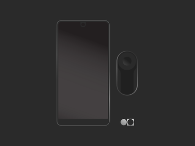 Essential Phone Packaging Graphics