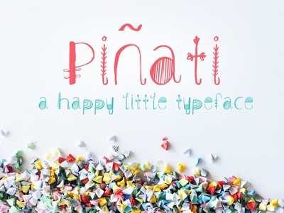 Pinati hand drawn lettering hand lettered creative market fonts type typeface font