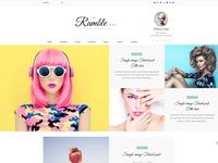 Ramble - Multi-Concept Blog, Magazine And Shop HTML Template