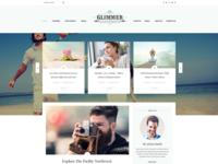 Glimmer - Blog Theme