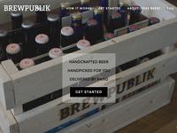 BrewPublik Homepage