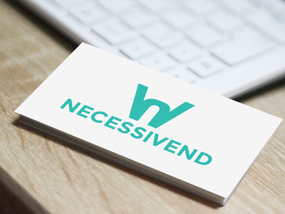 Necessivend Logo logo design graphic design logo design branding