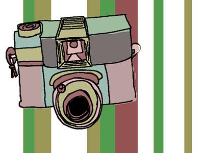 Camera Illustration illustration photography camera