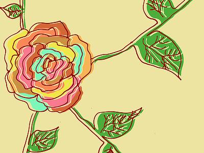 Rose Illustration illustration rose