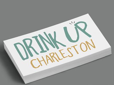 Drink Up Charleston Logo beer cheers drink logo charleston
