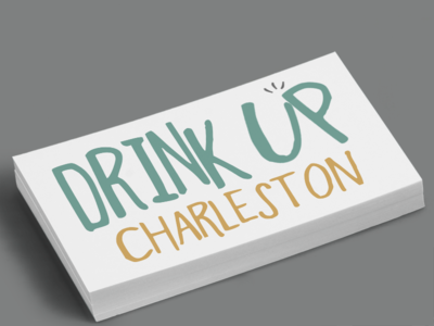 Drink Up Charleston Logo