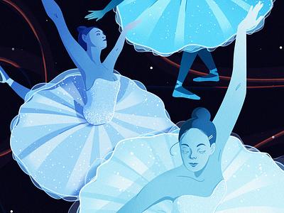 Ballet vector typography illustrator illustration graphic design design