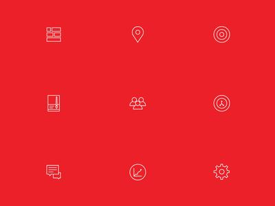 Icon Set for IoT Platform | encircle.io